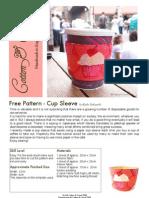 Cup Sleeve Tutorial
