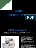 Jk800 juki