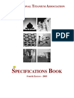 Titanium Specifications Book