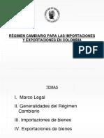 Regimencambiario Importaciones Exportaciones Colombia