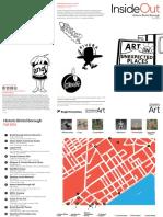 Bristol Inside/Out art exhibit brochure