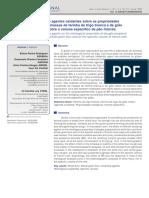 Influencia de Agentes Oxidantes Sobre Propriedades Reológicas Da Farinha