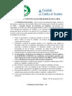 Cipa Edital Eleicao 2012 2013