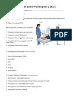 SOP Pemasangan Elektrokardiogram EKG