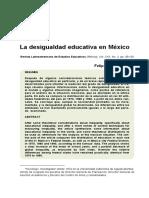 Las desigualdades educativas en México