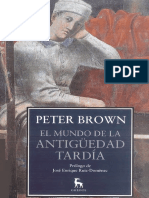 Brown Peter - El Mundo de La Antiguedad Tardia