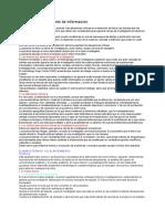 Acopio y Procesamiento de Informacion