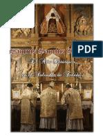 EL AÑO LITURGICO EN LA IGLESIA DEL SALVADOR. Forma Extraordinaria del Rito Romano 2015 - 2016