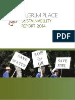Pilgrim Place Sustainability Report