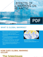 The Effects of Global Warming on the Arctic