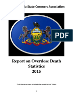2015 DRUG REPORT Pennsylvania State Coroners Association