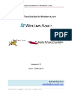 Tomcat Solution in Windows Azure