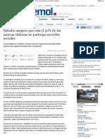 50% de las Empresas Chilenas participa en Redes Sociales