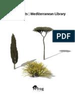 XfrogPlants Mediterranean Library