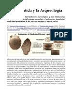 La Atlantida y La Arqueologia - Georgeos Diaz-Montexano (Artículo de 2015). http://www.AtlantidaHistorica.com