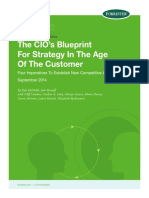 The CIO's Blueprint for Strategy in the Age of the Customer
