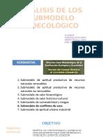 ANÁLISIS DE LOS SUBMODELO BIOECOLÒGICO.pptx