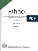Singer, Itamar. Las Reformas Fallidas de Akhenatón y de Muwatalli. Rihao 14. 2007.