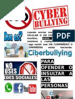 Afiche Ciberbullying