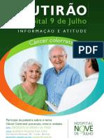 Mutirão de prevenção do câncer colorretal