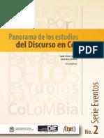 Panorama de Los Estudios Del Discurso en Colombia