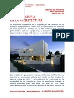 La Consultoria en La Arquitectura