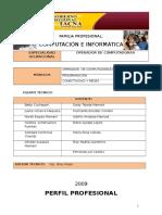 Modulo Informatica - Operacion de Computadoras