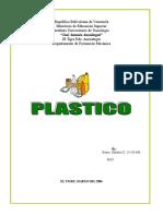 Trabajo de Plastico Conformado