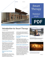 Smart Therapy Summer 2016 Newsletter