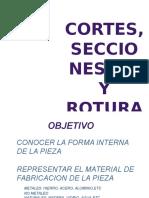 Cortes, Secciones y Roturas