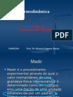 Aula 2-Termodinamica-Sistemas de Medidas