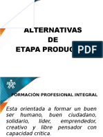 Presentacion Induccion Aprendices Alternativas de Etapa Practica 2016