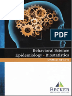 Becker's USMLE Step 1 - Lecture NotesBehavioral Science, Epidemiology, Biostatistics(2013) [UnitedVRG]