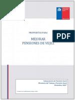 Libro Blanco Pensiones - Sebastián Piñera