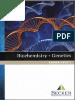 Becker's USMLE Step 1 - Lecture NotesBiochemistry, Genetics(2013) [UnitedVRG]