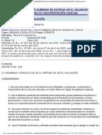 Ley de Medio Ambiente de El Salvador