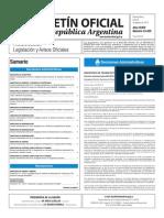Boletín Oficial de la República Argentina, Número 33.435. 08 de agosto de 2016