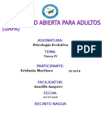 Tarea IV Psicologia Evolutiva Eridania Martinez