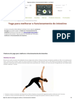 Yoga Para Melhorar o Funcionamento Do Intestino - Lar Natural