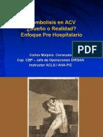 Trombolisis en Acv