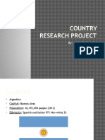 country research project-kylie federspiel-argentina