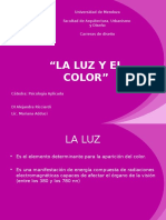 LUZ Y COLOR