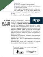 Anglo Resolve Fuvest - Português Redação