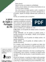 Anglo Resolve ITA - Inglês Português Redação
