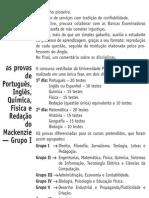 Anglo Resolve Mackenzie - 01 Português Inglês Química Física