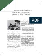 Tcach. Dictadores y Organizaciones Guerrilleras en Argentina, Brasil, Chile y Uruguay.