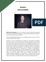 Biografia y caracteristicas de Mark Zuckerberg