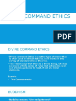 Divine Command Ethics
