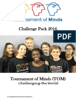 t of m - challenge pack 2016 letter and all 4 challenges