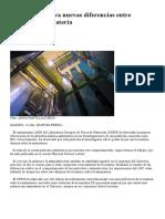 El CERN Observa Nuevas Diferencias Entre Materia y Antimateria